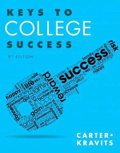 Keys to College Success Plus NEW MyLab Student Success Update -- Access Card Package (8th Edition) (Keys Franchise)
