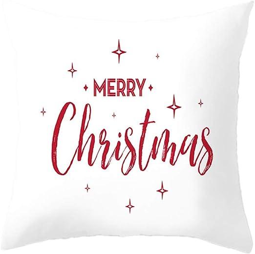 Sekmorpo Funda Cojines 45x45, Navidad Fundas Cojines 45x45cm Sofa ...