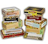 empty box - Paper Covered Empty Cigar Box; pack of 10