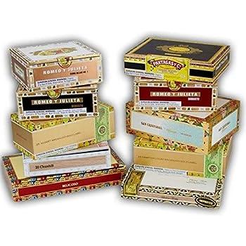 Amazon.com: PREMIUM Ácido aspiradora de madera caja de puros ...