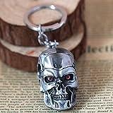 Best GENERIC Friends Key Rings - The Terminator Alloy Skull Key Chain Pendant Key Review