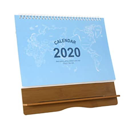 XWSH Lista de tareas de Escritorio Calendario 2020 ...