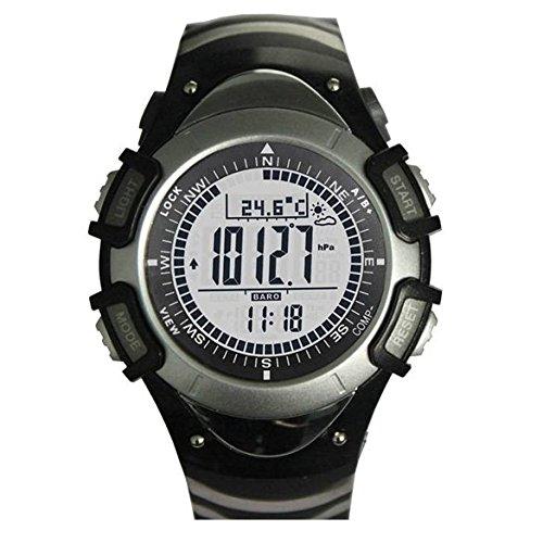 Highplus Reloj SUNROAD Reloj Deportivo FR8204A Altímetro Barómetro Termómetro EL Retroiluminación: Amazon.es: Relojes