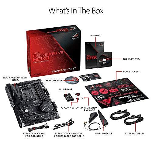 Build My PC, PC Builder, ASUS ROG Crosshair VII Hero