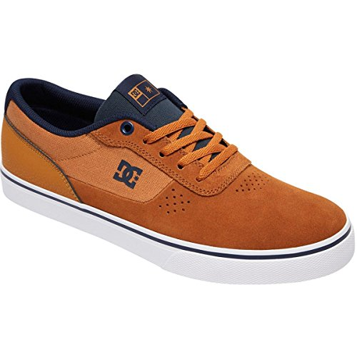 DC Shoes Men's Switch S Skate Shoes Tan 10