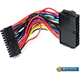 ATX PSU 24 Pin Female to Small 24 Pin Male Power Cable For DELL 780 980 960 PC