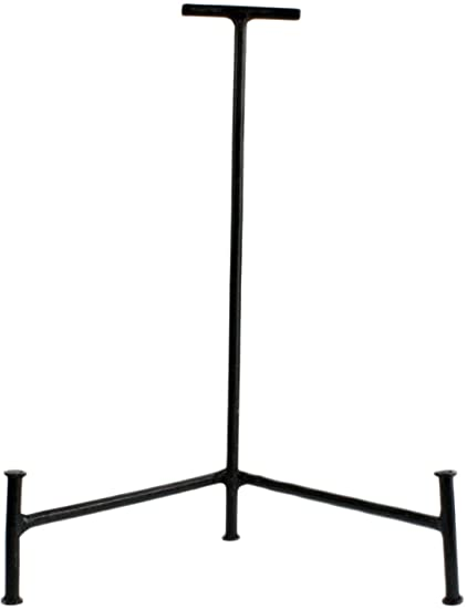 amazon com homart iron frame stand large black luxury frames