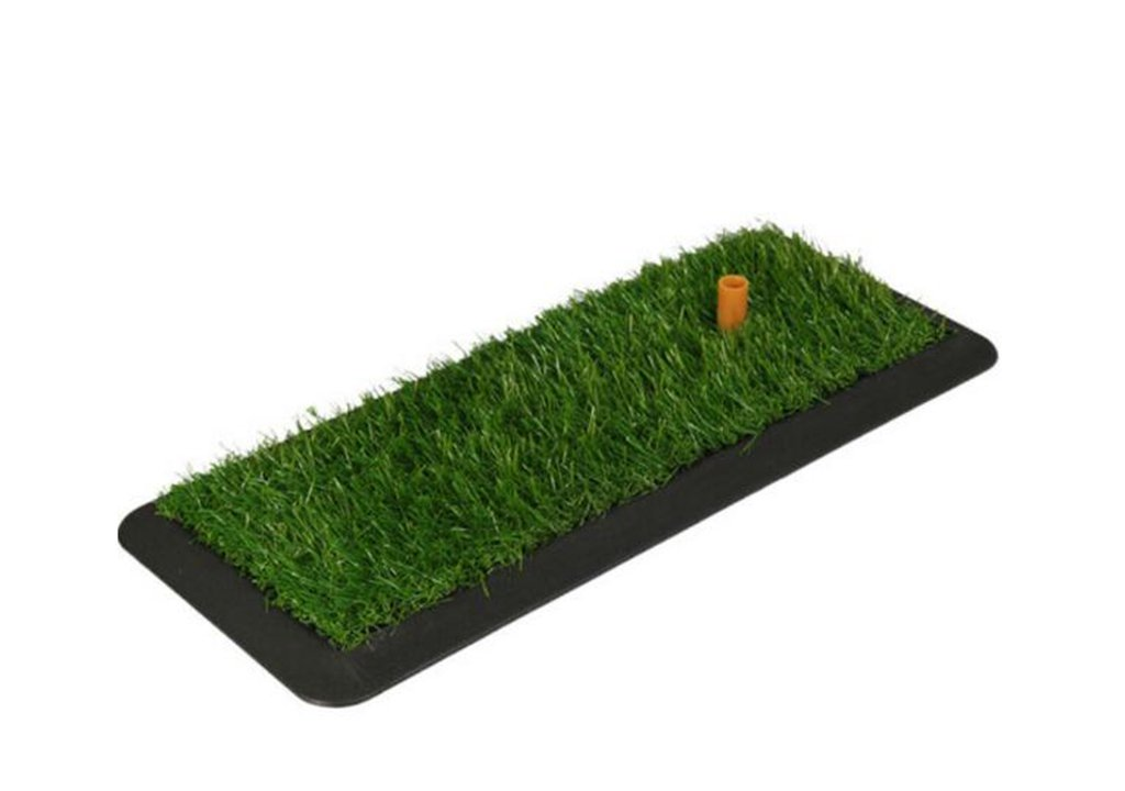ZHDC®ゴルフパッドゴルフ練習用マット屋内芝ゴムヒットスイングボールマットラバーソールパッド53.7×25 cm(サイズ:53.7 * 25 cm)   B077RFRWY1