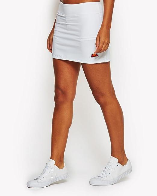 Ellesse SCW03560 Falda Pantalón de Tenis, Mujer, Blanco (Optic ...