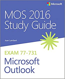 mos excel 2016 study guide free