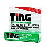 Ting Athlete's Foot and Jock Itch Cream 0.5 oz (14 g)(pack of 6)