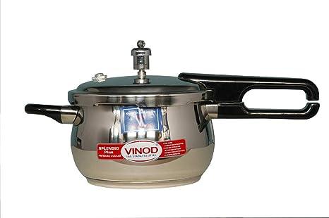 Amazon.com: Vinod v-3.5l Splendid Plus Handi – Olla a ...