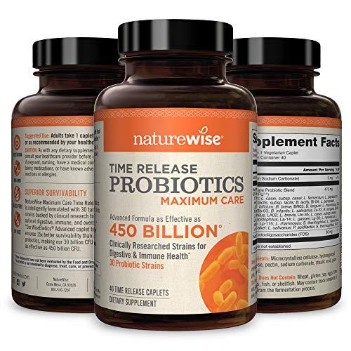 NatureWise Max Probiotics for
