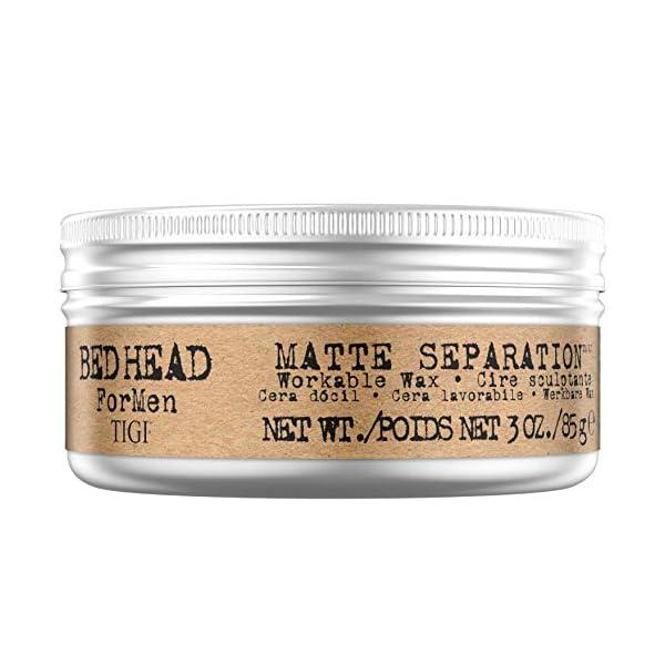 TIGI bed head Matte Separator VS NEW Hairbond Power