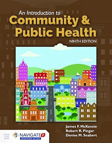 An Introduction to Community  &  Public Health cover