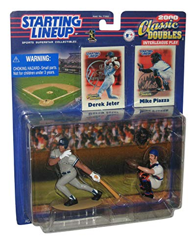 2000 MLB Starting Lineup Classic Doubles - Derek Jeter & Mike Piazza