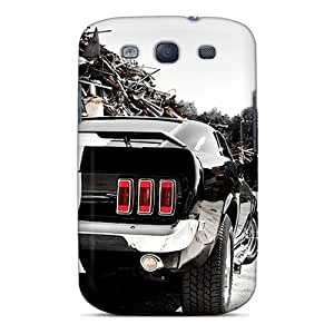 DannyLCHEUNG Samsung Galaxy S3 Shockproof Hard Cell-phone Case Unique Design Realistic Ford Mustang Skin [cTz2584aXNu]