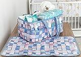 Baby Diaper Caddy Organizer | Free Changing Mat