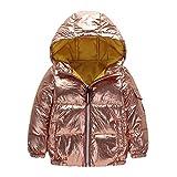 Naladoo Baby Kids Girl Boy Waterproof Coat Jacket Zipper Thick Hoodie Outerwear