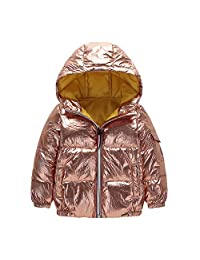LIKESIDE Girl Boys Baby Waterproof Coat Jacket Zipper Thick Hoodie Outerwear