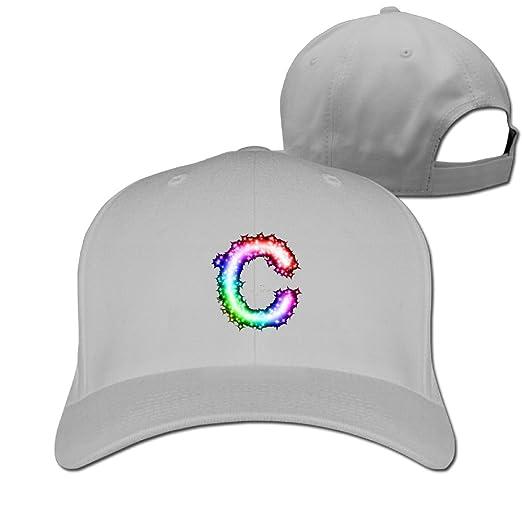 77ad1e40c Amazon.com  Letter C Logo Adjustable Baseball Cap  Clothing