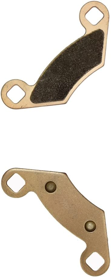 2 Pads Delanteros Derecha de Almohadillas de Zapatos de Freno Semi-met/álicas fit ATV 330 Trail Boss 03 04 2003 2004 1 Pair