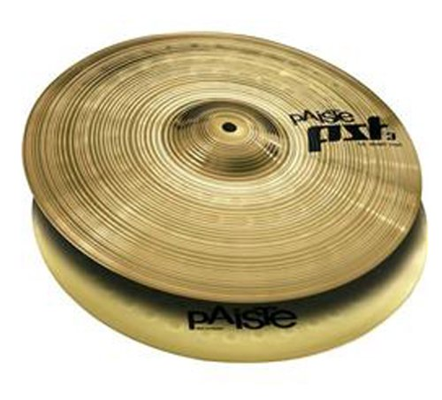 Paiste PST 3 Cymbal Pair Hi-Hat 13-inch by Paiste