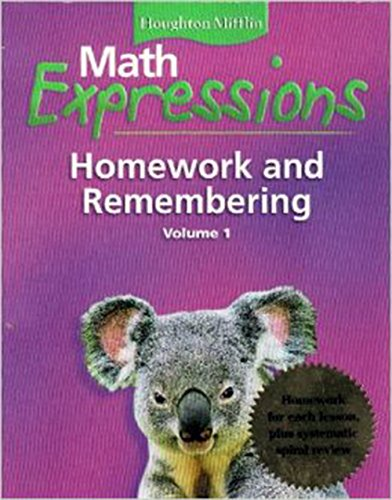 math expressions grade 5 homework and remembering volume 2 pdf