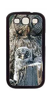 TUTU158600 Print Hard Shell s3 - Gentle owl