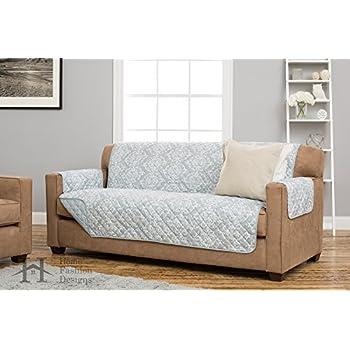 Amazon Com Lush Decor Chevron Slipcover Furniture
