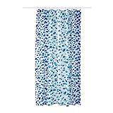 Ikea Skorren Shower Curtain White Blue 203.391.80
