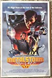 #3: METALSTORM: THE DESTRUCTION OF JARED-SYN original ROLLED 3D 27x41 1983 one sheet movie poster