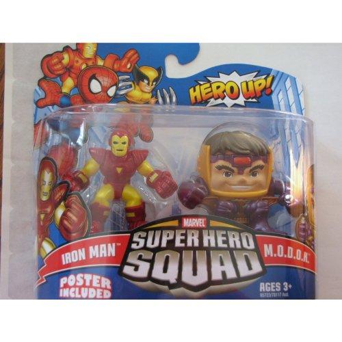 - Marvel Superhero Squad Series 16 Mini 3 Inch Figure 2Pack Iron Man & Modok