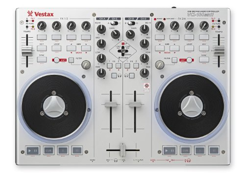 Vestax VCI100 Mk II Dj Controller with Built-In Audio ()