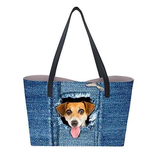 Showudesigns, Borsa a mano donna Large Dog