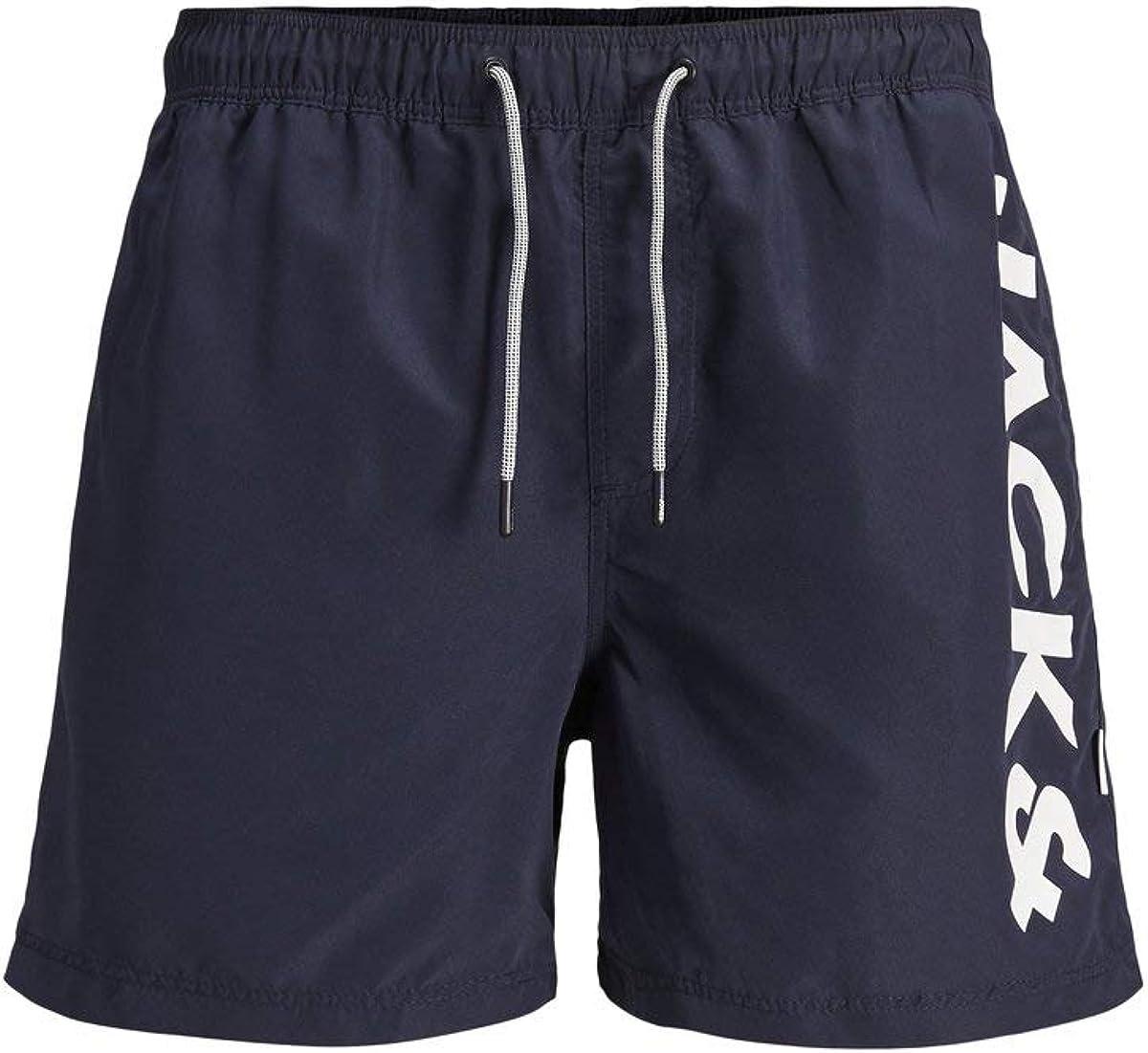 Jack & Jones Jjiaruba Jjswimshorts AKM Jones STS Bañador para Hombre