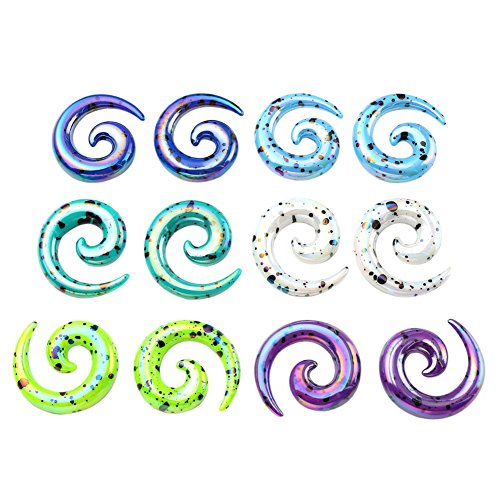 PiercingJ Colors Acrylic Spiral Stretching product image