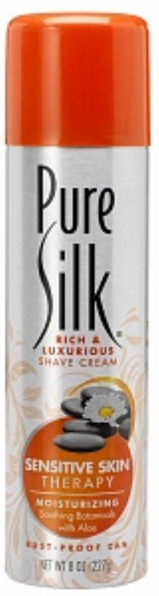 Pure Silk Shave Sens Skn Size 8z Pure Silk Shave Sens Skn Thrpy 8z