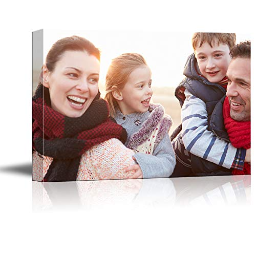 (NWT Custom Canvas Prints with Your Photos for Family, Personalized Canvas Pictures for Wall to Print Framed 24x36 inches)
