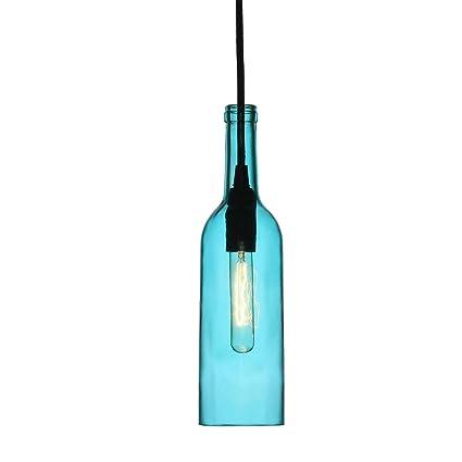 V-TAC SKU.3768 - Lámpara colgante de techo con forma de botella,