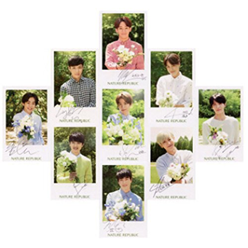 - Kpop EXO Photo Postcard Signature Lomo Cards Set Gift for Fans (H21)