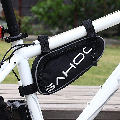 Sahoo Bicycle Bike Tyre 14 in 1 Multi-use Repair Tools Kits Bag with Mini Pump by SAHOO (Image #3)