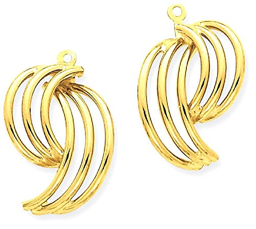 ICE CARATS 14k Yellow Gold Ear