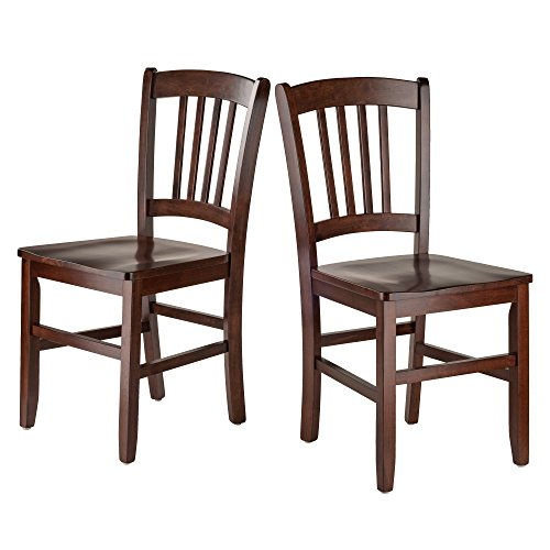 Slat Back Chair (Winsome Wood Madison 2-PC Set Slat Back Chairs)