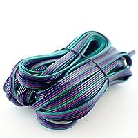 HitLights 20 Gauge RGB DC Wire 40 Ft / 12 Meter - For LED Tape Light Strips