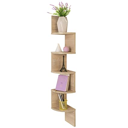 Comifort Etagere Murale D Angle Moderne Style Bibliotheque