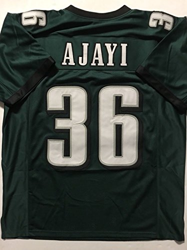 Unsigned Jay Ajayi Philadelphia Green Custom Stitched Football Jersey Size Men's XL New No Brands/Logos (Green Eagles Signed Jersey)