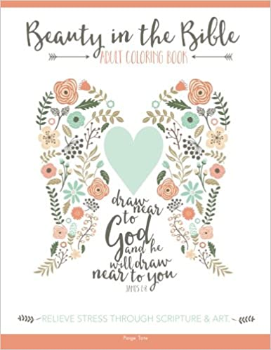 Beauty In The Bible Adult Coloring Book Amazonca Paige Tate Books