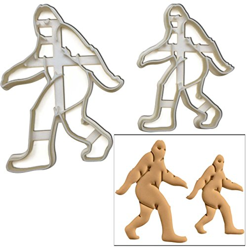 SET of 2 Big Foot cookie cutters (Large and Small Size), 2 pcs, Ideal for animal theme party