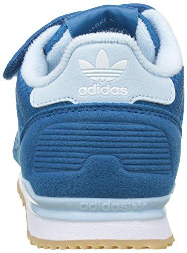 adidas Zx 700 Cf C, Zapatillas de Deporte para Niños Azul (Azuuni / Azuart / Ftwbla)